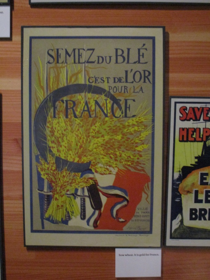 Sow wheat, It is gold for France